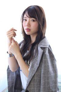 kamei*暗髪ブルーベージュが可愛い◎