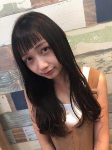 kamei*撮影会*大人可愛い暗髪スタイル
