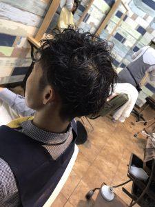 朝楽☆メンズパーマ☆(some)