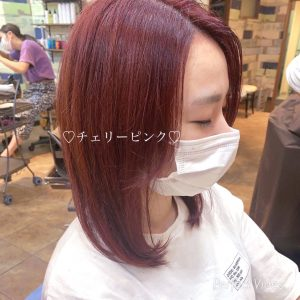 チェリーピンクがオススメ☆ marche星野翔太