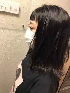 暗髪が可愛い☆