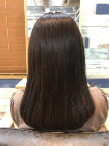 髪の毛を伸ばしている方~