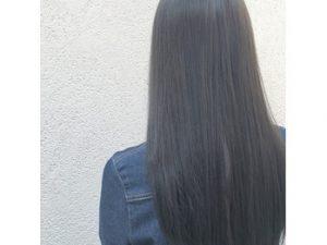★春 暗髪 黒髪 グレー カラー ★