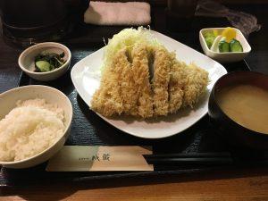 美味しいとんかつ屋さん(*^_^*)