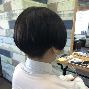 刈り上げショート☆