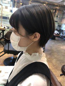 コンパクトショート【前髪】
