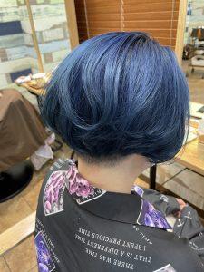 ブリーチカラー*ブルー☆