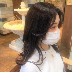 後れ毛で可愛く☆オージュア