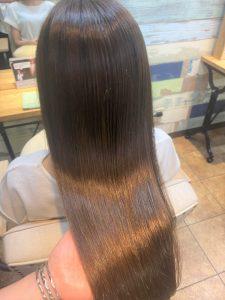 【髪質改善】広がり、うねり、湿気対策プランが◎
